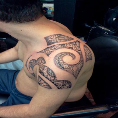 Maori Tattoo Design